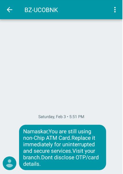 Sender ID example