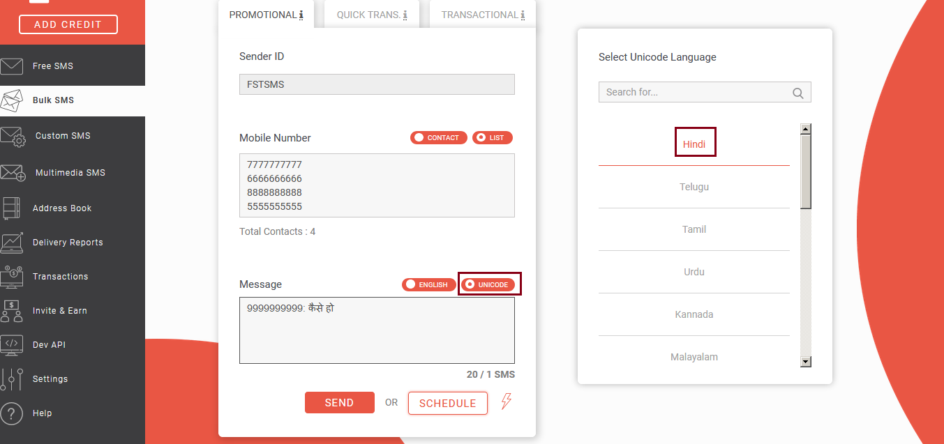 How Bulk SMS works?