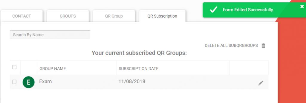 QR Form edited
