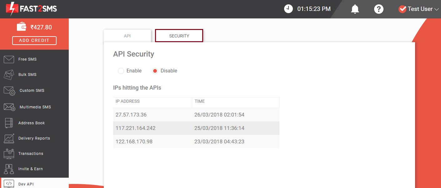 How Dev API works?