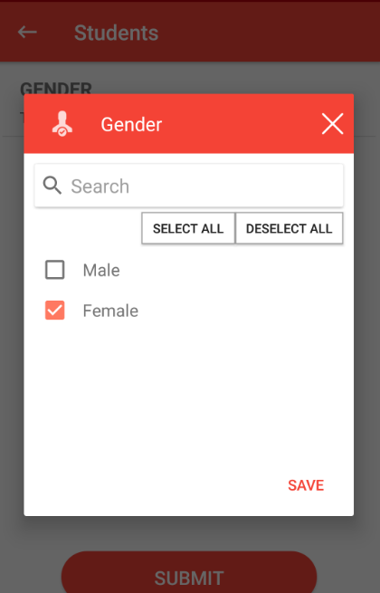 change preference in QR subscription