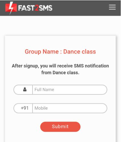 dance class qr group