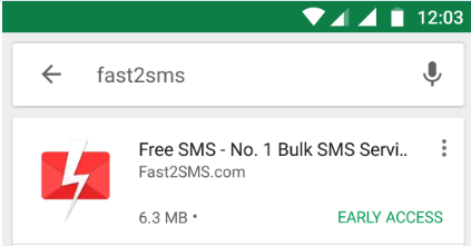 How to download Fast2SMS app?