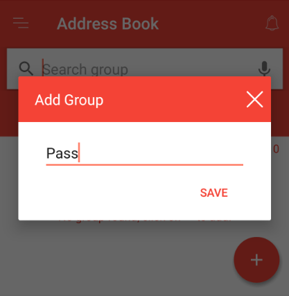 How to create a group in Fast2SMS app?