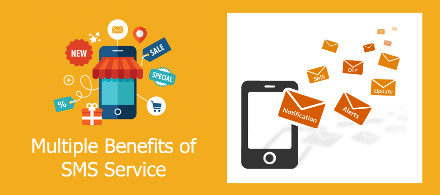 SMS service benefits