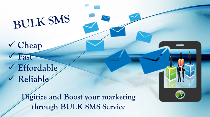 Bulk SMS for advertising industries