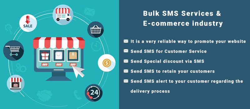 Send Bulk SMS for E-commerce-industry