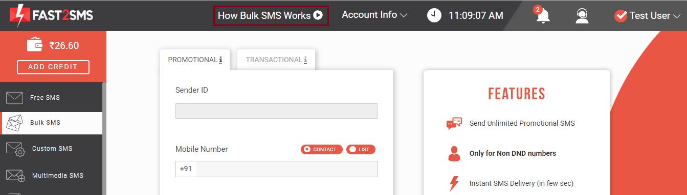 How bulk sms works