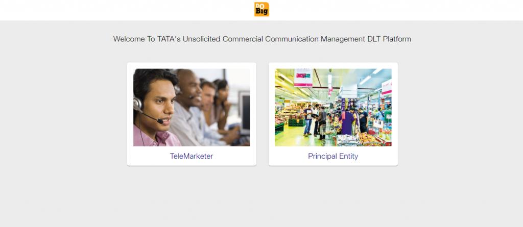 Tata Teleservices DLT