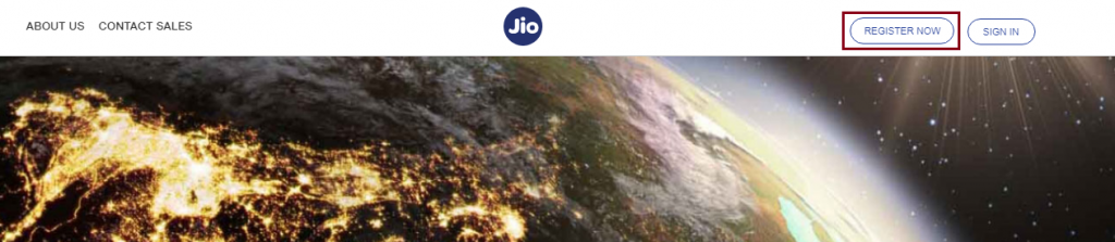 Homepage DLT Jio Register Now