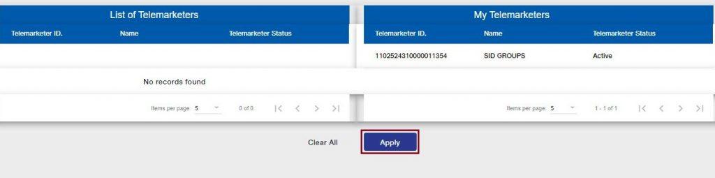 Apply Telemarketer