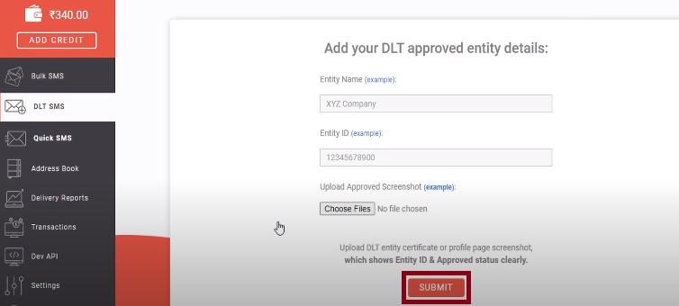 Add DLT details