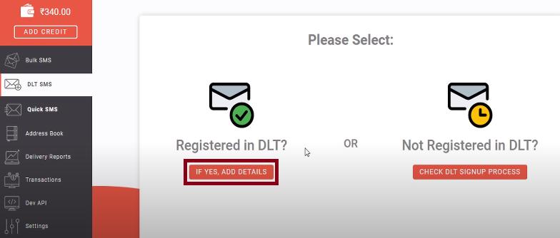 DLT registration for Entity